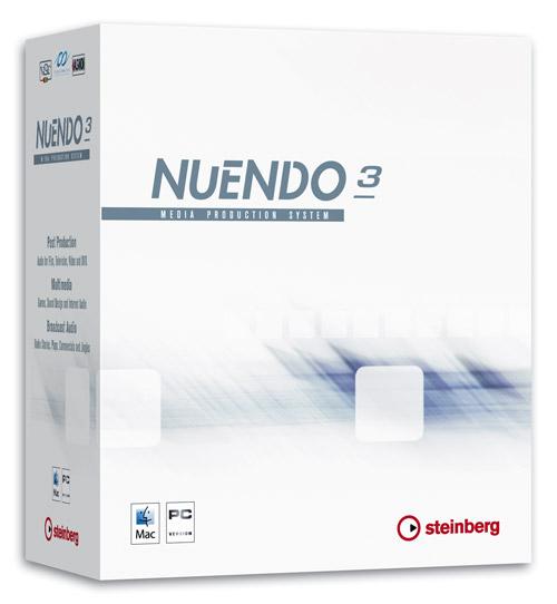 Nuendo 3.2 Профессиональная виртуальная студия для написания музыки и